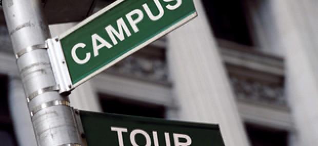 campus visit tips